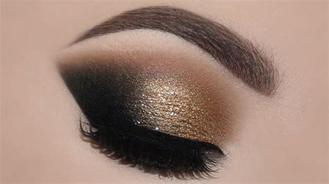 gold glam cat smokey eyes perfect skin makeup tutorial melissa samways youtube