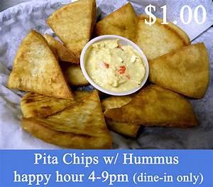 Pita Chips & Hummus - EuroGyro