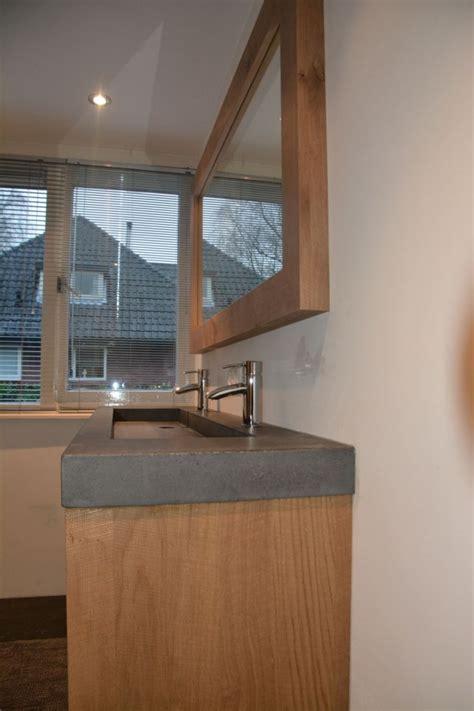 badkamermeubel landelijk modern badkamer eiken verweerd amerongen vri interieur