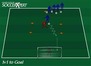 1 V 1 To Goal  1 V 1 Soccer Drill To Goal  1 V 1 Soccer