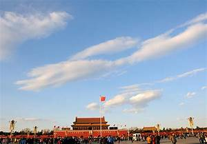 Beijing sees blue sky on New Year's Day, but air quality ...