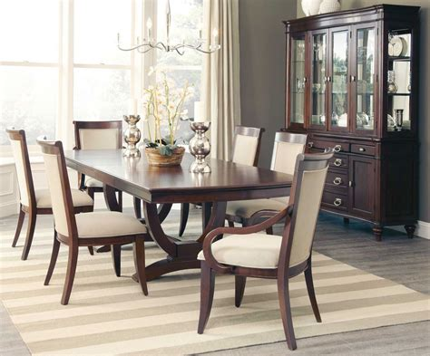 alyssa rectangular extendable dining room set  coaster