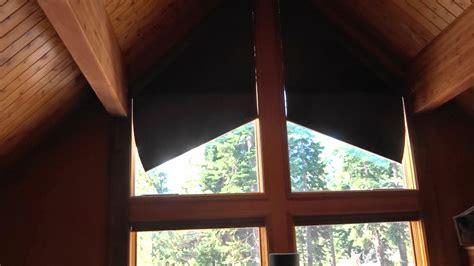 angle top window treatments  lake tahoe home kempler