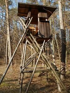 Cabane Dans Les Arbres Construction : images gratuites cabanon cerf construction supporter en bois cacher chasse position ~ Mglfilm.com Idées de Décoration