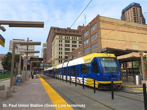 minneapolis light rail urbanrail net gt usa gt minneapolis st paul light rail