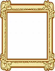 Ornate Picture Frame Clipart - ClipartXtras
