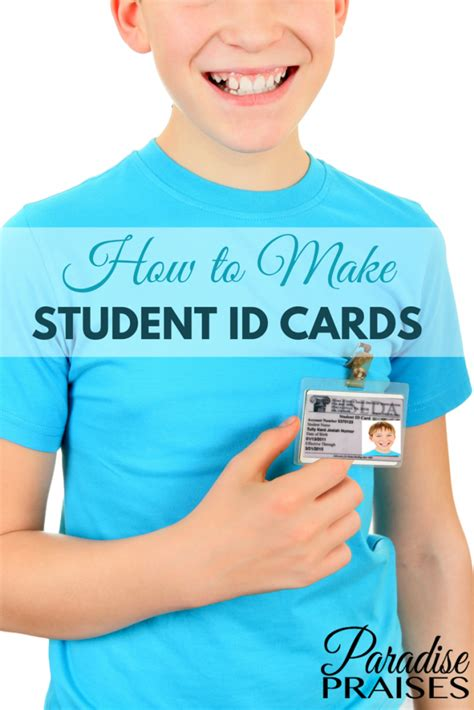 How To Make Student Id Cards (free Printable