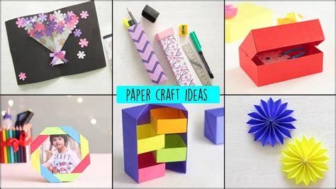 diy paper crafts ideas handcraft art  craft youtube