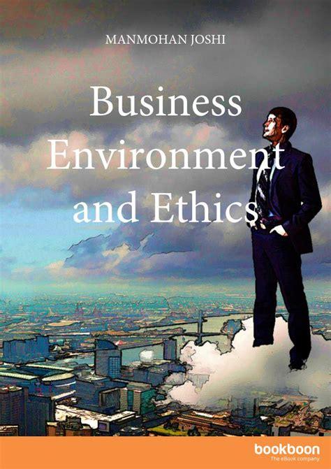 business environment  ethics