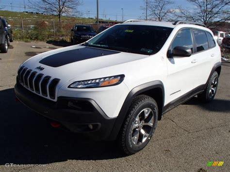 jeep cherokee trailhawk black rims 2014 bright white jeep cherokee trailhawk 4x4 87864813