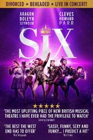 SIX Tickets | Arts Theatre London - lastminute.com
