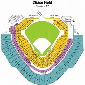 Giants Field Seating Chart Breakdown Of The Chase Field Seating Chart Arizona