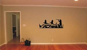 hunting vinyl decal wall sticker wall tattoo by tibi291 on With hunting wall decals