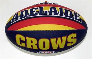 Adelaide Crows Size 5 Synthetic Football AFL Footy Shop