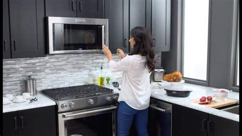 kitchenaid microwave hood combinations youtube