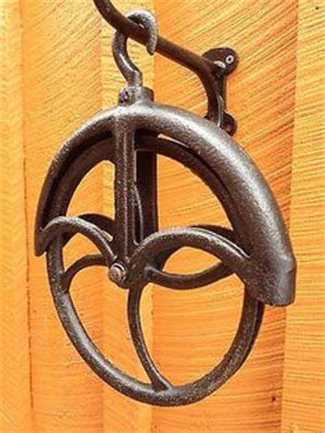 Details About Antique Well Wheel Pulley Pully Cast
