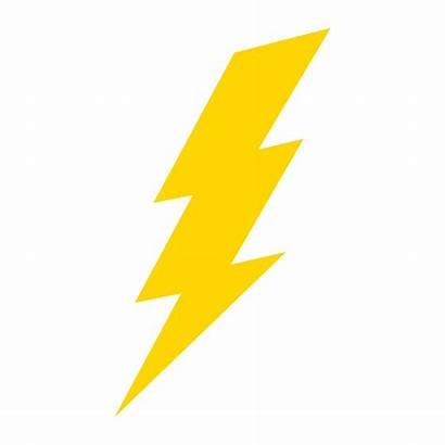 Blitz Bliksemflits Elektrischer Lightning Vecteezy Fulmine Pictogram
