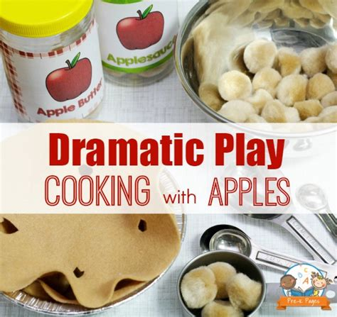 cooking projects for preschoolers dramatic play apple orchard theme 624