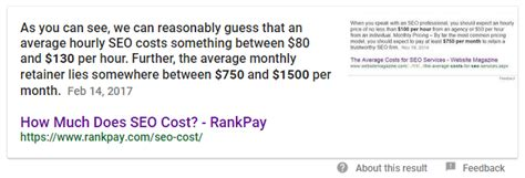 Seo Cost by How Much Does Seo Cost