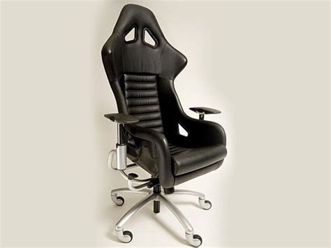 custom made office chair with f360 challenge parts