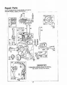 Craftsman 247298770 User Manual 5 H P  Chain Drive Rear