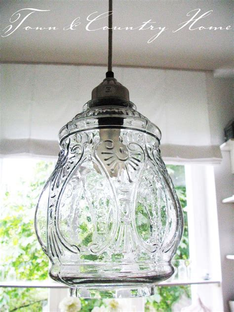 town country home   lamp diy kitchen lighting