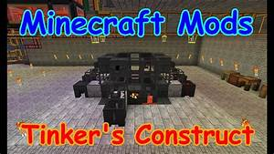 Minecraft Mods - Tinkers Construct