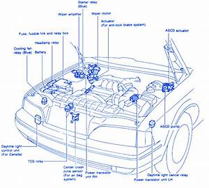 Infinity Q45 1995 Engine Electrical Circuit Wiring Diagram