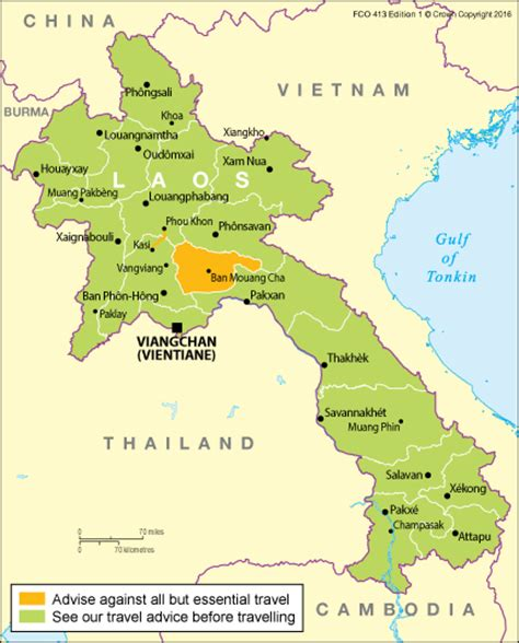 Laos travel advice - GOV.UK