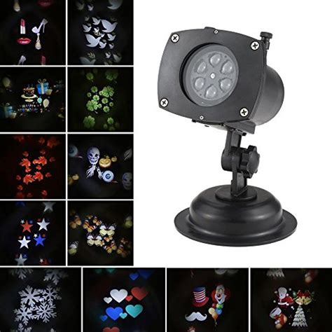 ushio projector l decoration solled projection lights rotating led projector l 12
