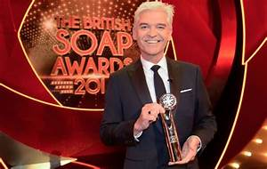 """Soap Awards host Phillip Schofield: """"Being live will add ..."""