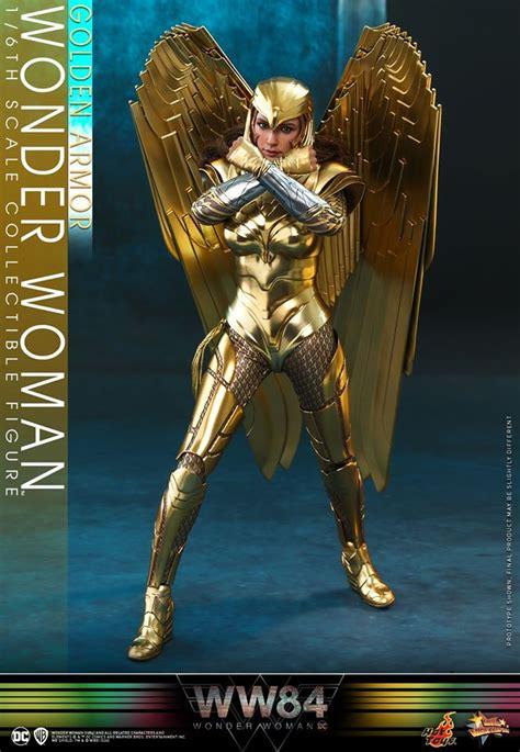 hot toys golden armor  woman