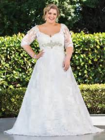 plus size wedding dresses plus size wedding dresses with sleeves dressed up