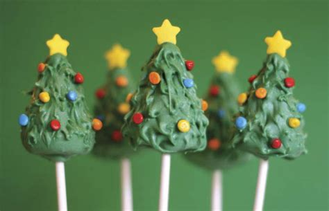 a recipe for christmas tree cake pops bunch