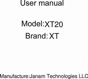 Xt20 User Manual Mobile Device User Guide  With Images