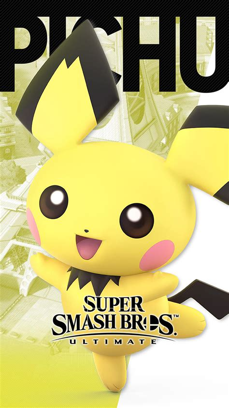 super smash bros ultimate pichu wallpapers cat  monocle