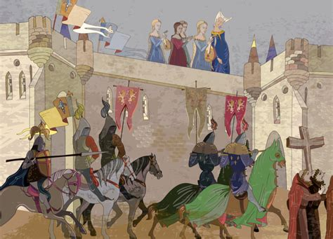high middle ages  concept  crusade