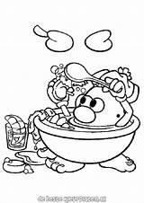 Mr Potato Head Coloring Pages Potatohead Fun Printable Ausmalbilder Ratings Yet Von sketch template