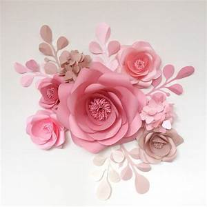 Rosen Aus Seidenpapier : paper flowers giant paper flowers wedding paper flower ~ Lizthompson.info Haus und Dekorationen
