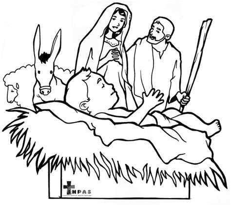 Jezus In In De Kribbe Kleurplaat by 17 Best Images About Kerst Kleurplaten Voor Kleuters