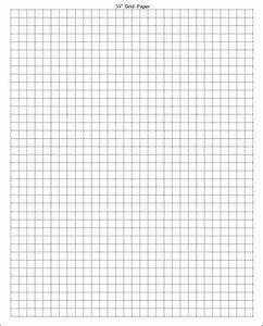 3 graph paper With one inch graph paper template