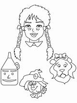 Wizard Oz Coloring Printable Cartoons Sheets Cartoon Wizardofoz Drawing Template Dorothy Clipart Templates Adults Coloringpages101 Library Advertisement Popular Crafts sketch template