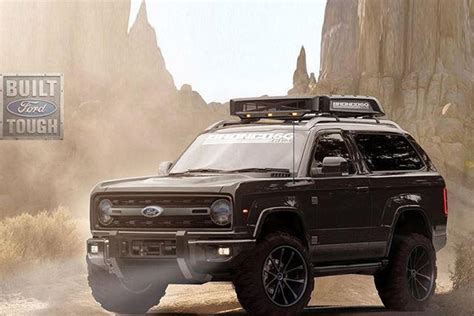 hennessey  extreme  road plans   ford bronco