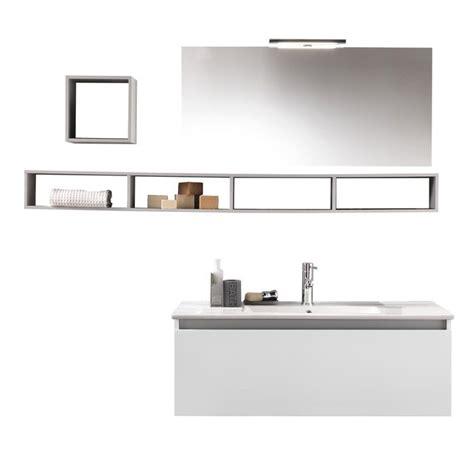 Mobile Con Mensole Composizione Mobile Bagno Mensole Specchio Lada