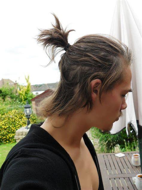 short pony tail samurai hair style hair flow beard