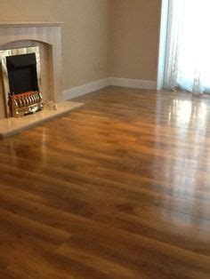 High Gloss Walnut Effect Laminate Flooring   Flooring