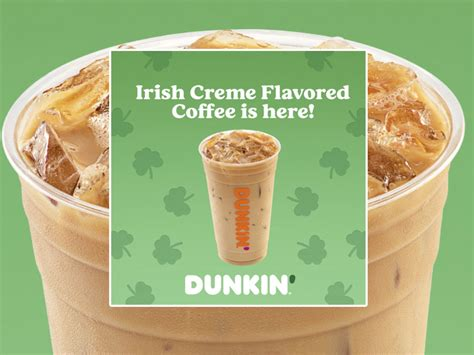 Dunkin donuts iced coffee is keto friendly and low carb by default, so try not to add too much additives to increase sugar intake. Dunkin' Welcomes Back Irish Creme Flavored Coffee And Lucky Shamrock Donut - Chew Boom