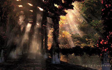 Wallpaper Iphone Digital Blasphemy by Digital Blasphemy 3d Wallpaper The Shaded Path Autumn