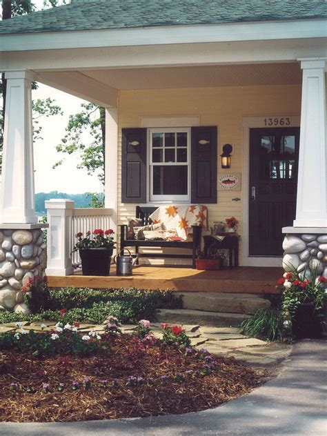 ready  fall  cozy front porch design  decor
