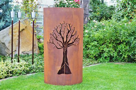 Für Den Garten by Rost Garten Metallskulptur Im Garten Foto Www